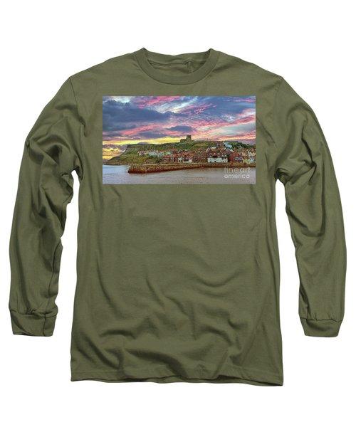 Whitby Abbey Uk Long Sleeve T-Shirt