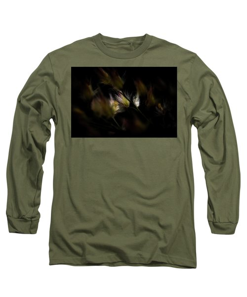 Long Sleeve T-Shirt featuring the photograph White And Yellow by Jay Stockhaus