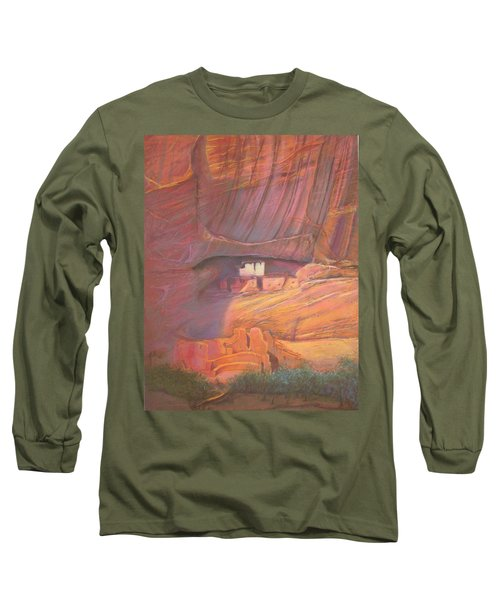 White House Rock  Home Of He Anasazi He Anasazi Long Sleeve T-Shirt