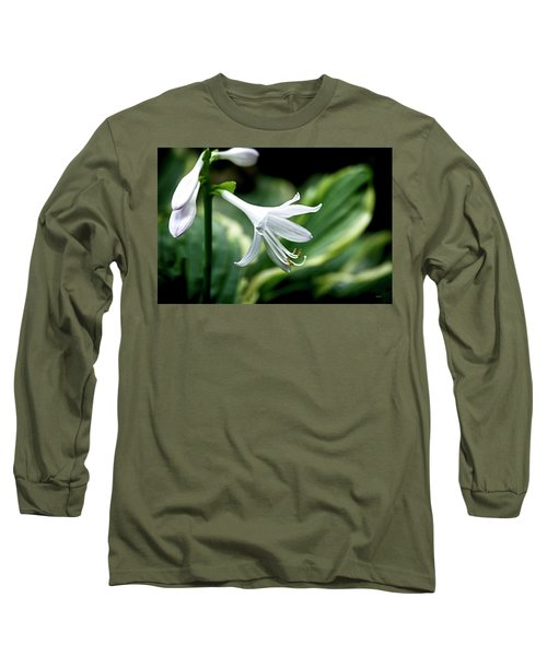 White Lily 1 Long Sleeve T-Shirt