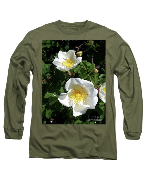White Perfection Long Sleeve T-Shirt