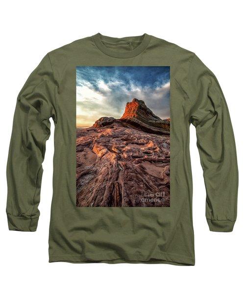 White Pocket Inside Vermillion Cliffs National Monument Long Sleeve T-Shirt