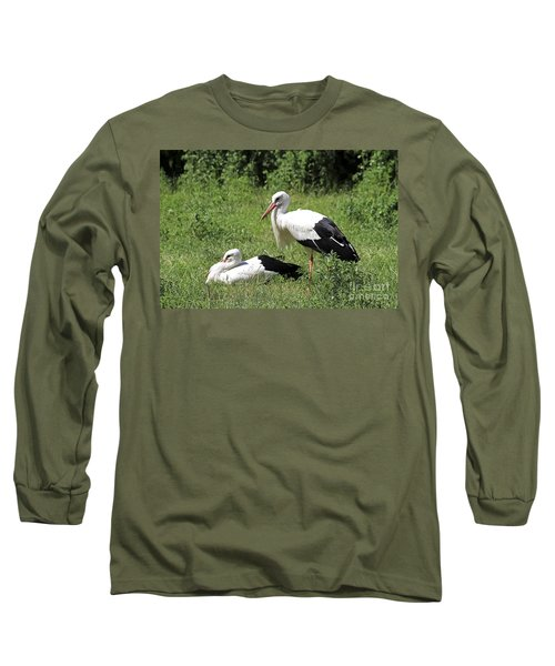 White Storks Long Sleeve T-Shirt