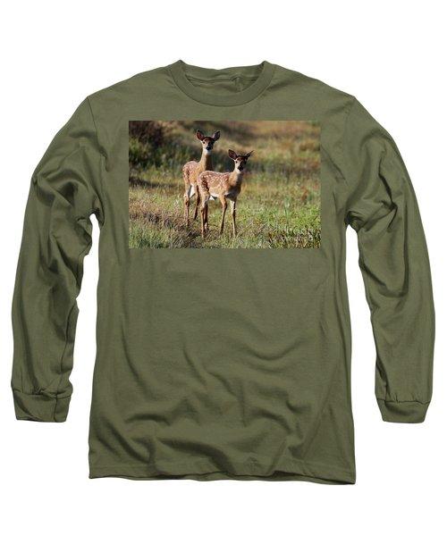 White-tailed Deer Long Sleeve T-Shirt