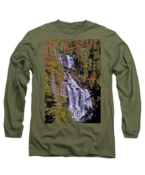 White Water Falls Long Sleeve T-Shirt
