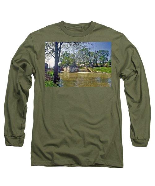 Whitewater Canal Metamora Indiana Long Sleeve T-Shirt