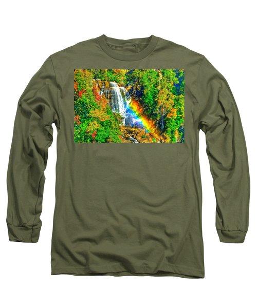 Whitewater Rainbow Long Sleeve T-Shirt