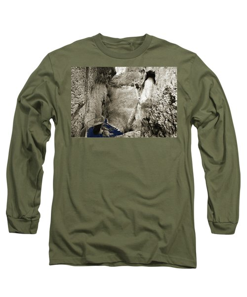 Whitewater Too Blu Long Sleeve T-Shirt by Jan W Faul