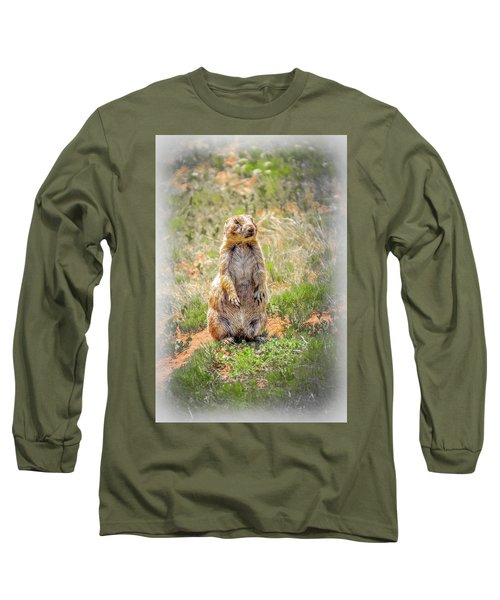 Who Dat? Long Sleeve T-Shirt by Mark Dunton