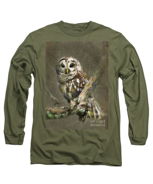 Whoooo Long Sleeve T-Shirt