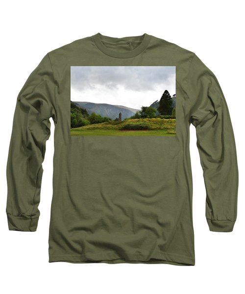 Long Sleeve T-Shirt featuring the photograph Wicklow Mountains by Terence Davis
