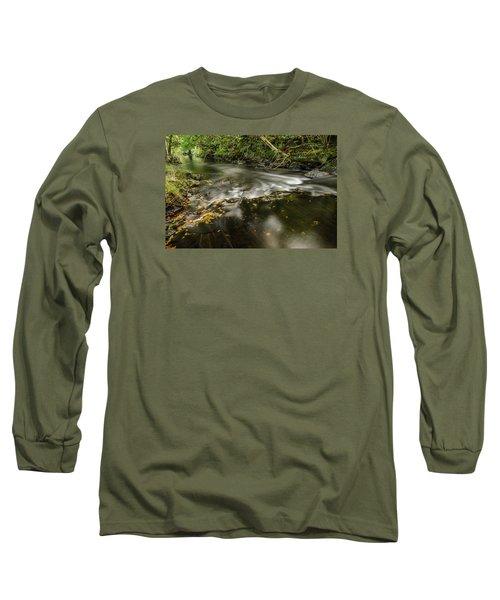 Wicklow Stream Long Sleeve T-Shirt by Martina Fagan