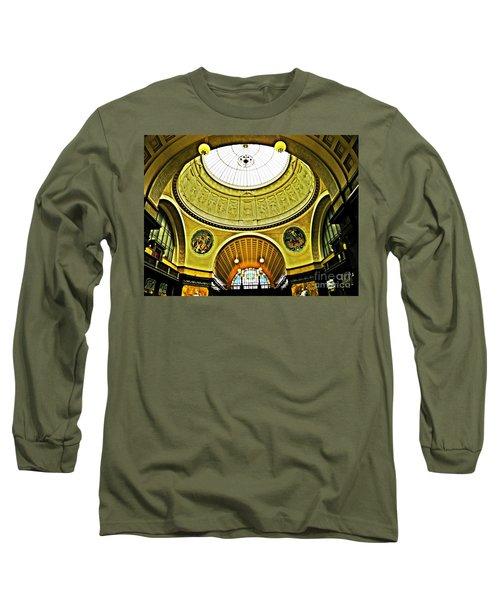 Wiesbaden Casino Long Sleeve T-Shirt by Sarah Loft