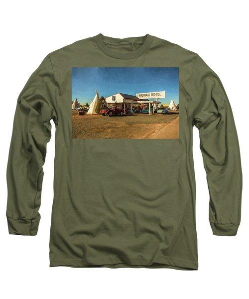 Wigwam Motel Long Sleeve T-Shirt