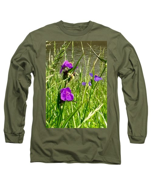 Wild About Violet Long Sleeve T-Shirt