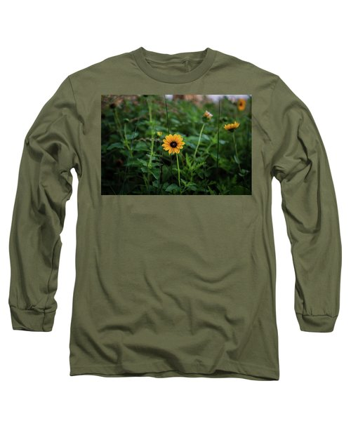 Wild At Hearts And Flowers Long Sleeve T-Shirt