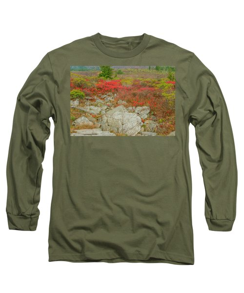 Wild Blueberries Long Sleeve T-Shirt