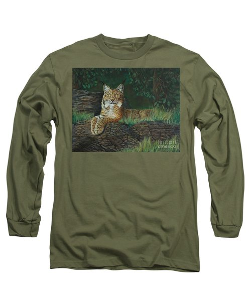 The Ever Watchful Lynx Long Sleeve T-Shirt