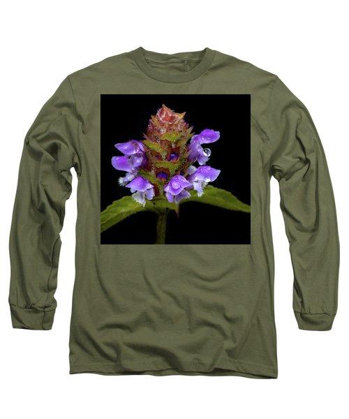 Wild Flower Portrait Long Sleeve T-Shirt