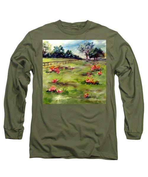 Texas Wild Flower Road Trip  Long Sleeve T-Shirt
