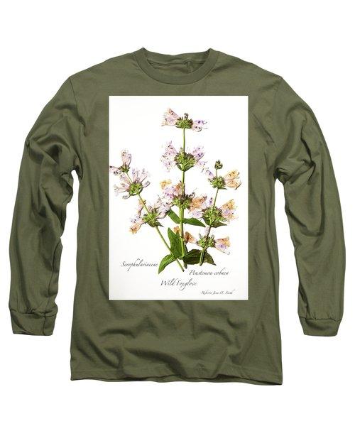 Wild Foxglove Long Sleeve T-Shirt