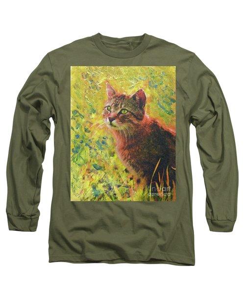 Wild Garden Tabby Long Sleeve T-Shirt