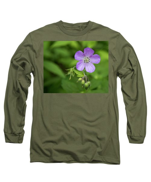 Wild Geranium Long Sleeve T-Shirt