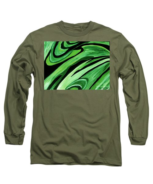 Wild Green Long Sleeve T-Shirt