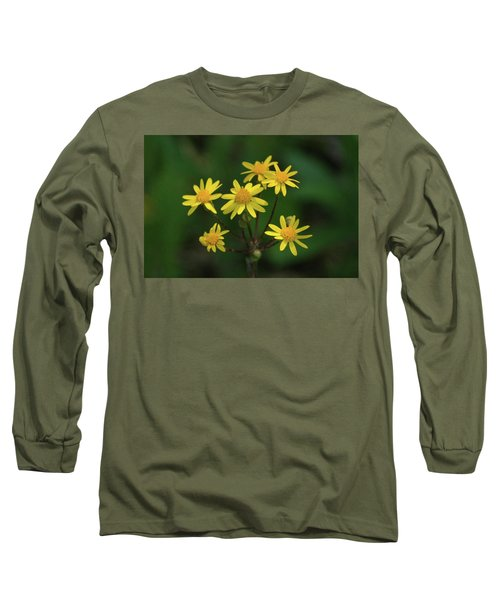 Long Sleeve T-Shirt featuring the photograph Wild Meadow Daisies by LeeAnn McLaneGoetz McLaneGoetzStudioLLCcom