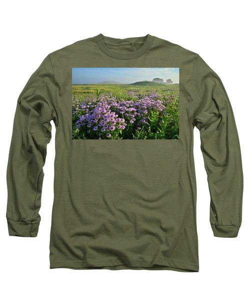 Wild Mints Galore In Glacial Park Long Sleeve T-Shirt