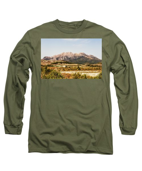 Wild Mountain Range Long Sleeve T-Shirt