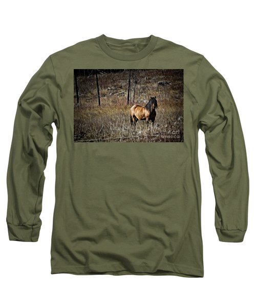 Wild Mustang Long Sleeve T-Shirt