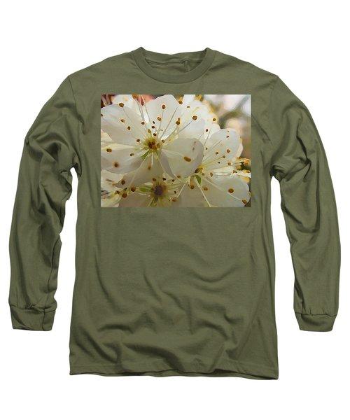 Wild Sand Plum  Long Sleeve T-Shirt