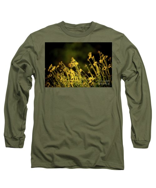 Long Sleeve T-Shirt featuring the photograph Wild Spring Flowers by Kelly Wade