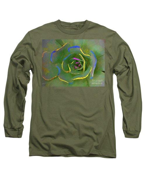 Wild Succulent Long Sleeve T-Shirt