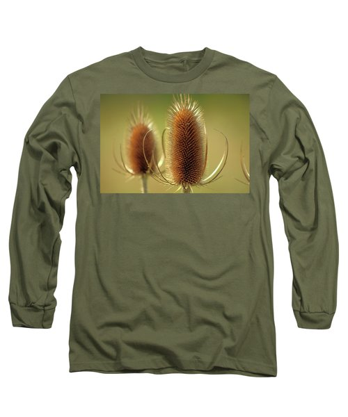 Wild Teasel Long Sleeve T-Shirt by Bruce Patrick Smith