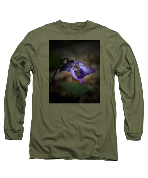 Wildflower Long Sleeve T-Shirt by Karen Harrison