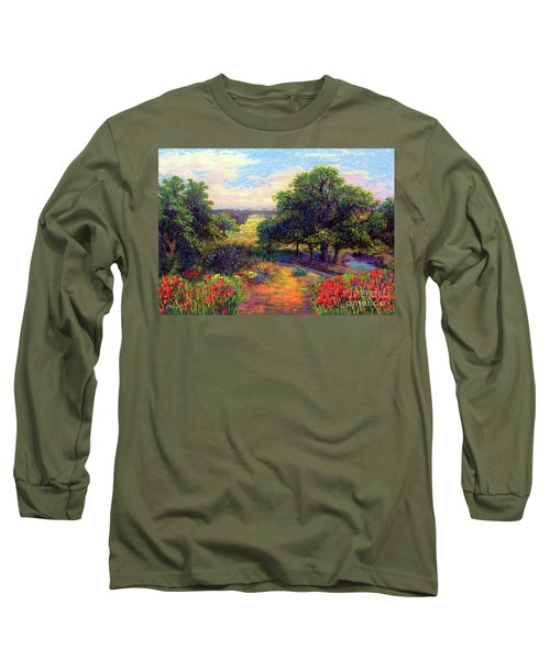 Wildflower Meadows Of Color And Joy Long Sleeve T-Shirt
