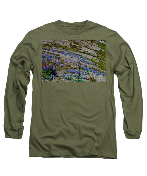 Wildflowers Long Sleeve T-Shirt by Ansel Price