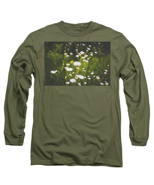 Long Sleeve T-Shirt featuring the photograph Wildflowers In Summer by Shelby Young