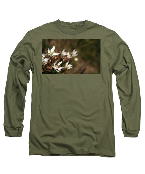 Wildflowers Long Sleeve T-Shirt by Marna Edwards Flavell