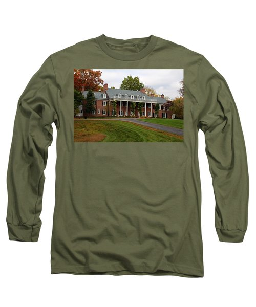 Wildwood Manor House In The Fall Long Sleeve T-Shirt