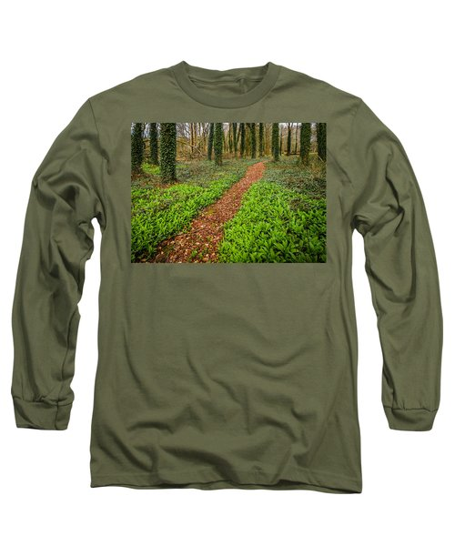William Butler Yeats Woods Of Coole Park Long Sleeve T-Shirt