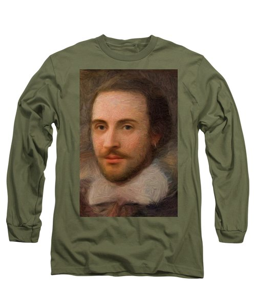William Shakespeare Long Sleeve T-Shirt