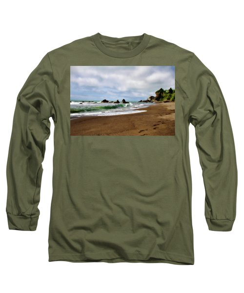 Wilson Creek Beach Long Sleeve T-Shirt