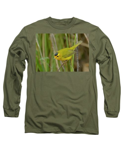 Wilson's Warbler Long Sleeve T-Shirt