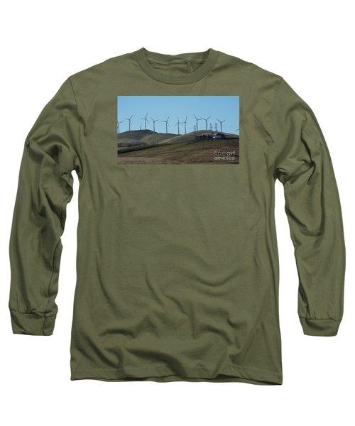 Wind Farm Long Sleeve T-Shirt
