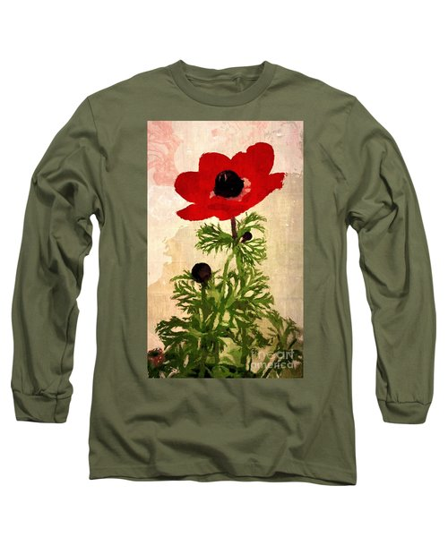 Wind Flower Long Sleeve T-Shirt by Alexis Rotella