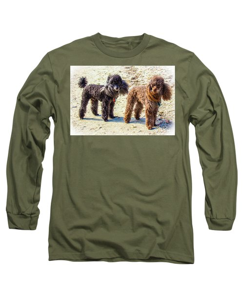 Windblown Beach Bums Long Sleeve T-Shirt