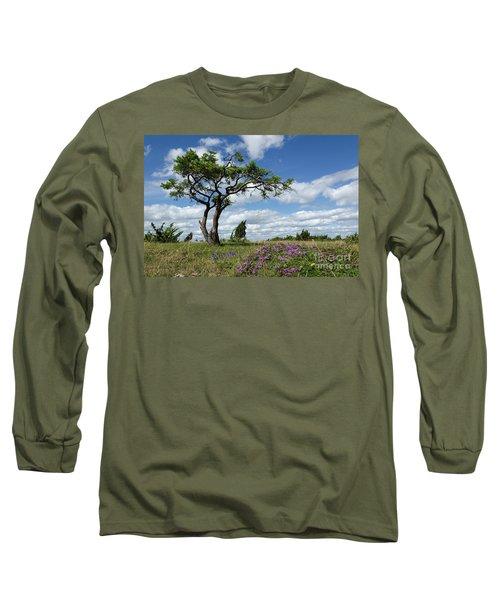 Windblown Long Sleeve T-Shirt by Kennerth and Birgitta Kullman